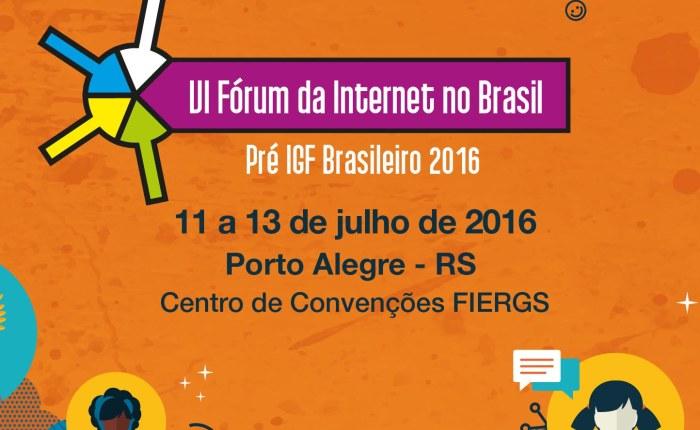 Conteúdos e bens culturais no VI Fórum da Internet doBrasil
